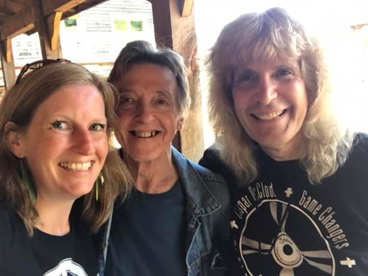 WE FESTIVAL 2019 JOEY MOLLAND - Bad Finger & MICHELE WHALEN - Festival Coordinator