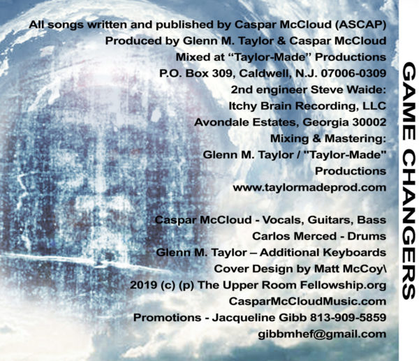 Game Changers - Caspar McCloud (back cover)