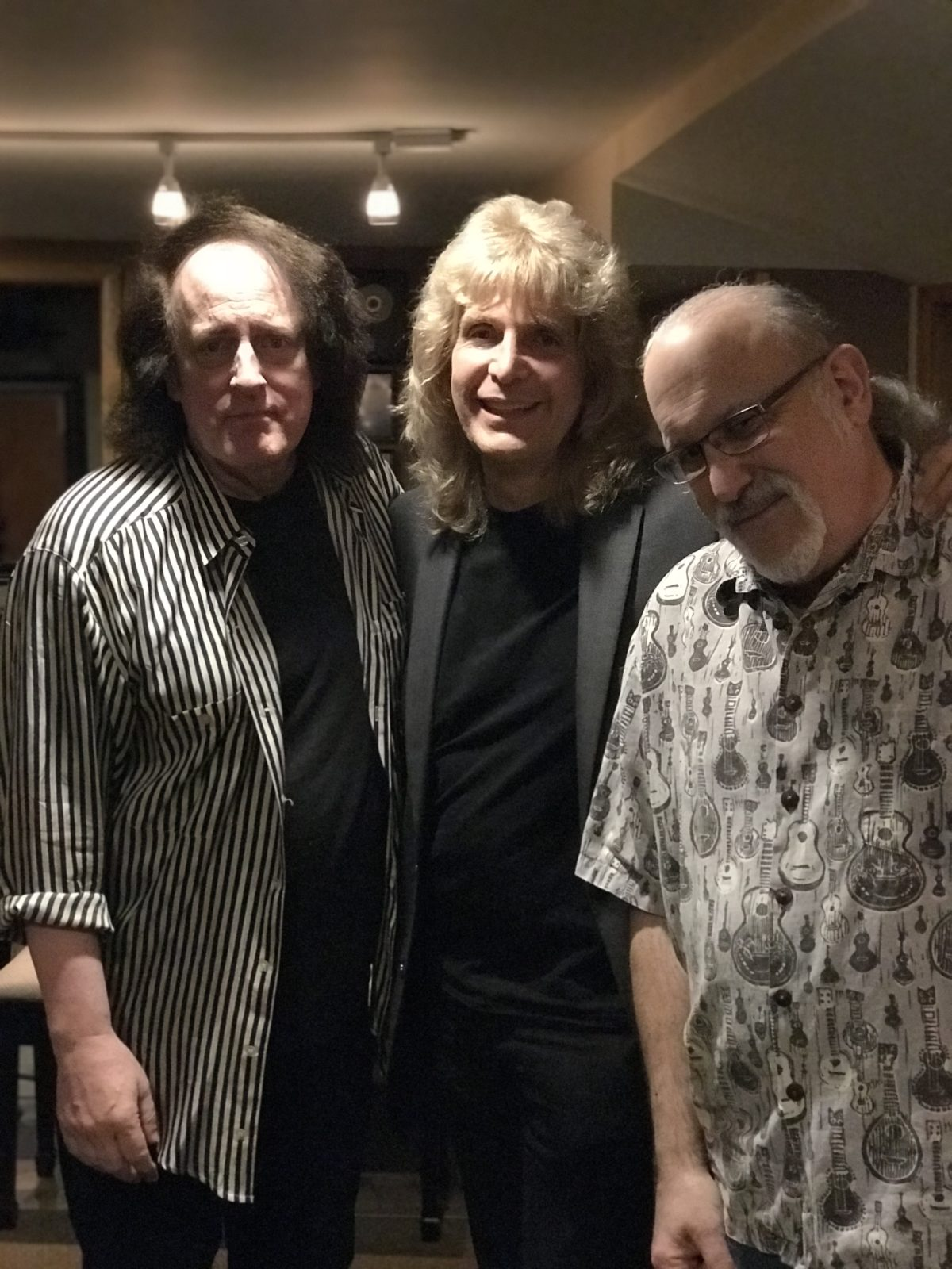 Tommy James, Glenn Taylor (the Shondells) and Pastor Caspar